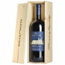 A thousand and one nights Magnum DOC Contessa Entellina Rosso DOC Donnafugata (wooden box) Donnafugata