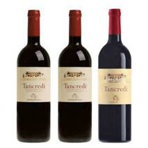 """Tancredi """"The Great Vintages"""" - Special little house (B) in wood with 3 Donnafugata bottles"""