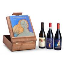 "Donnafugata ""Inseguendo"" Multi-use wooden case for 3 Donnafugata bottles"