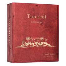 "Tancredi ""The Great Vintages"" - Special little house (B) in wood with 3 Donnafugata bottles"