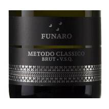 Classic Method Sparkling Wine Chardonnay (24 months on the lees) VSQ organic Funaro Funaro