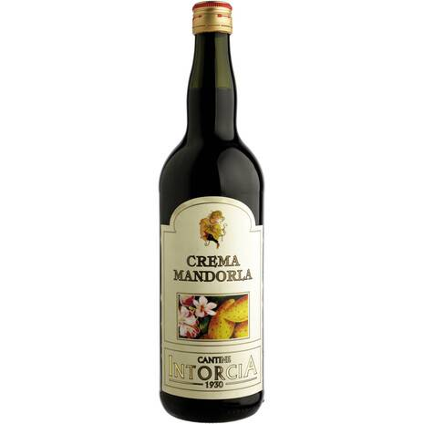 Almond cream wine aromatized with Intorcia