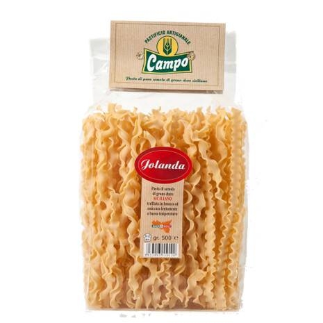 Jolanda Pasta Sicilian durum wheat High Quality (Package 0,5 Kg)