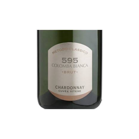 595 Spumante Chardonnay Classic Method White Dove Colomba Bianca