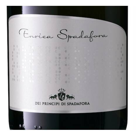 Spumante Enrica Spadafora Brut Nature Classic Method IGT Sicilian Lands Of The Princes of Spadafora Principi di Spadafora