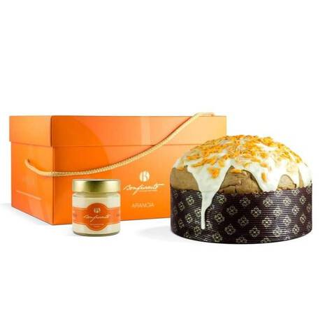 Panettone with Orange from Sicily (1000gr) Bonfissuto