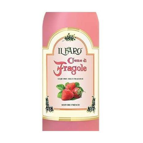 """Strawberry"" Fruit Creams Il Faro Bianchi"