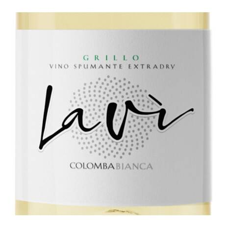 Lavì 2018 Grillo Spumante Extra Dry  Colomba Bianca Colomba Bianca