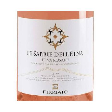 The Sands of Etna Rosato Nerello Mascalese DOC Etna Firriato Firriato