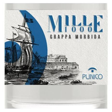 Grappa Mille Morbido Punico Liquori Punico