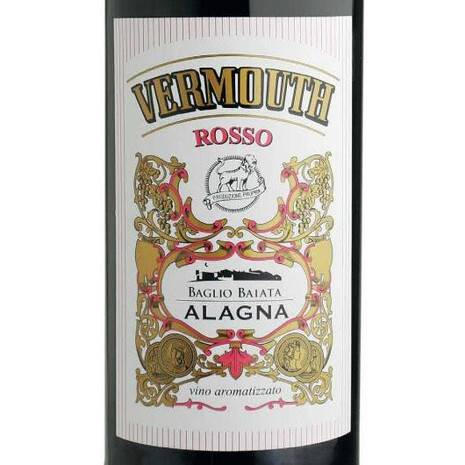 "Sweet flavored wine ""Red Vermouth"" Alagna Alagna"