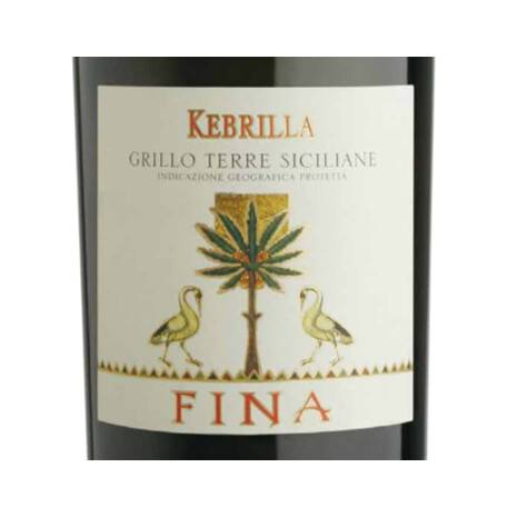 """Grillo """"Kebrilla"""" PGI Typical Geographical Indication Fina (60 Bottles) Special Pack Fina"""